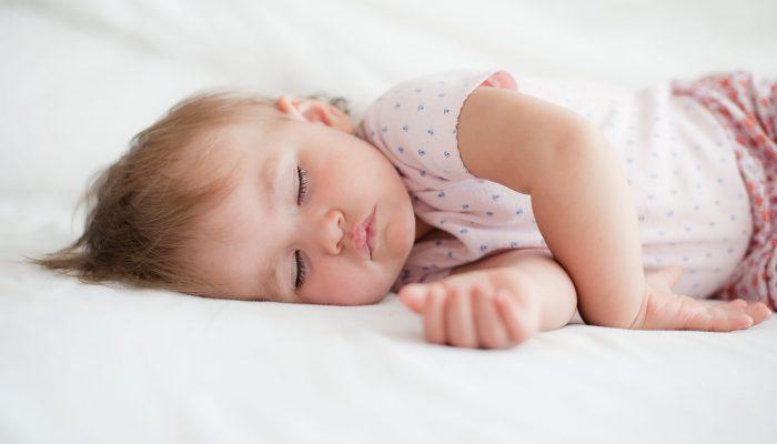 One,Year,Old,Baby,Girl,Sleeping.
